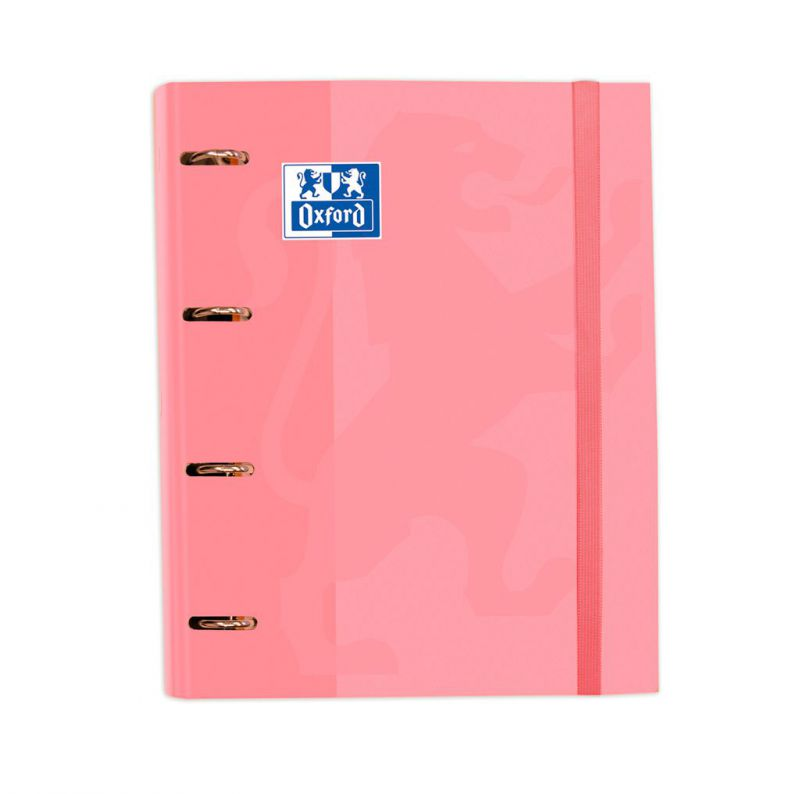 CARPETA Fº 4A T/EXT. ROSA/CHICLE + REC. OXFORD 185