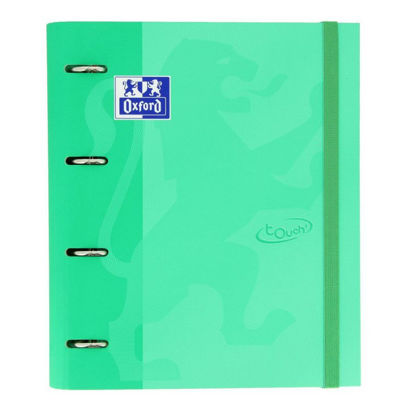 CARPETA Fº 4A T/EXT. TOUCH MENTA + REC. OXFORD 663